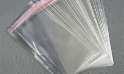 embalagem saco plástico transparente