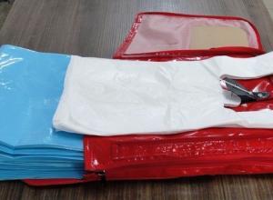lojas de sacolas plásticas