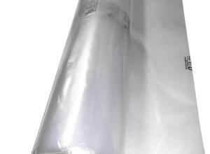 saco plástico grande transparente