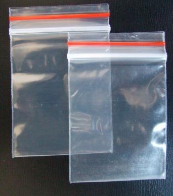 saco zíper plástico